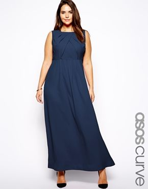 Exclusive Dress I With Maxi Curve Pleated Things Asos NeckPretty Y7vIbgyf6