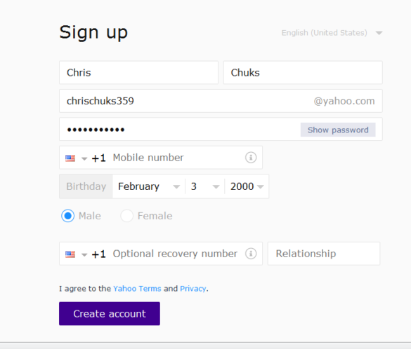 Yahoo Mail Login Sign In To My Yahoo Mail Email Account Tecng Mail Login Check Mail Email Account