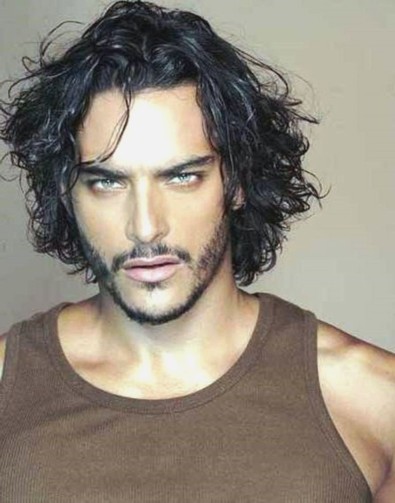 Mens Long Hairstyles 2014 Curly - Hairstyles For Men ...