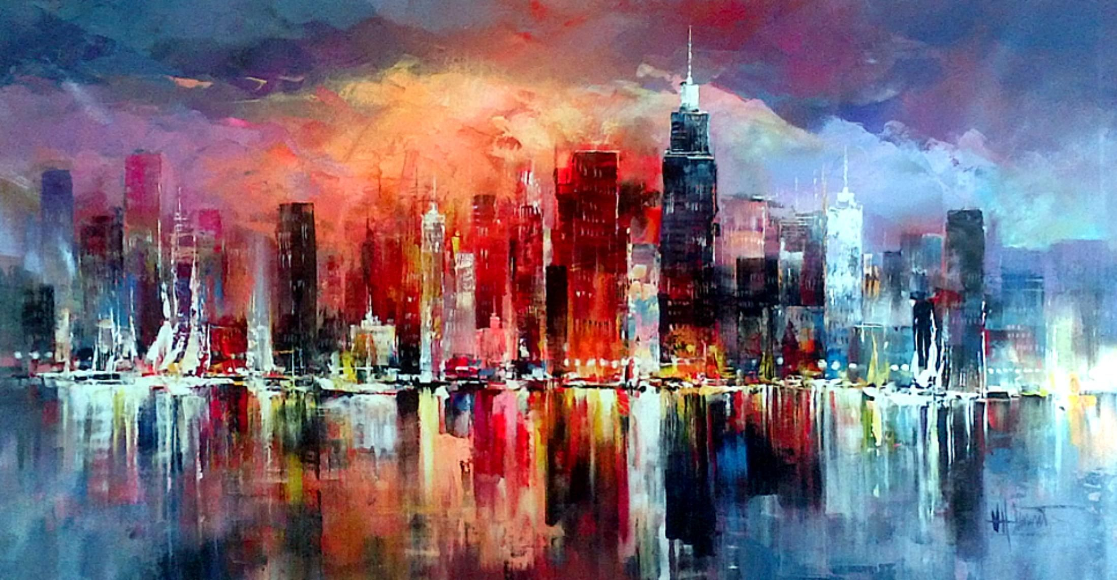 Skyline willem haenraets kunst pinterest for Pinterest kunst