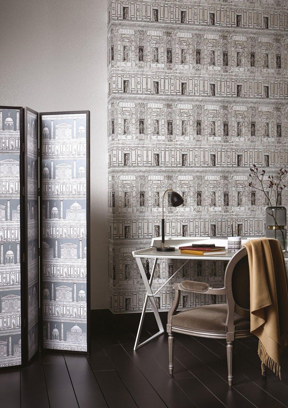Palladio Dalmatian Home art, Wallpaper, Striped wallpaper