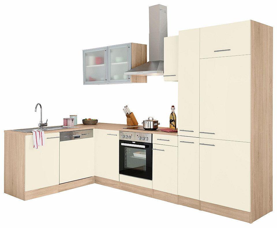 Optifit Winkelküche »Kalmar« ohne E-Geräte, Breite 300x175 cm - küchenzeilen ohne geräte