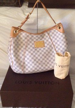 e6e96f80f4755 LOUIS VUITTON Vuitton Damier Azur Galliera Gm Retired Sp4058 Hobo Bag. Hobo  bags are hot this season! The LOUIS VUITTON Vuitton Damier Azur Galliera Gm  ...