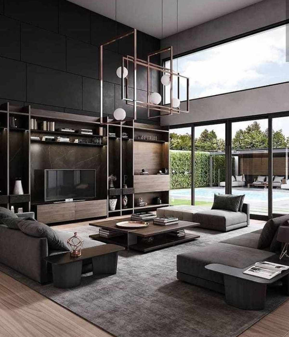 10 Minimalist Living Room Ideas That Will Inspire You To Declutter Modern Grey Living Room Loft Interiors Living Room Design Modern Modern home decor living room
