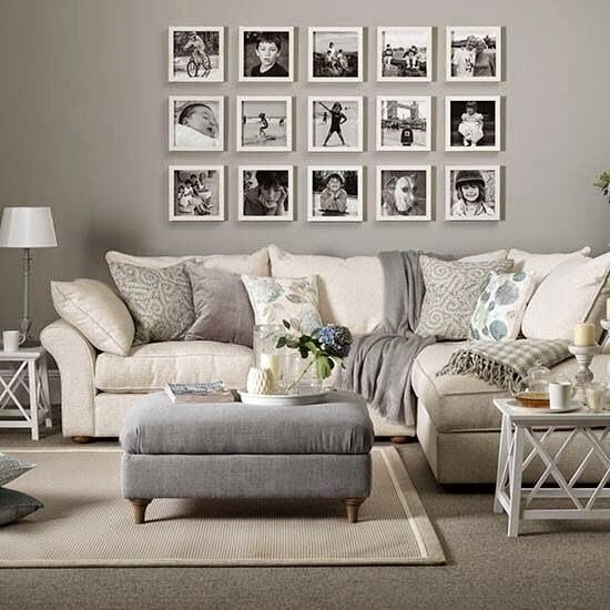 10 Ideas Para Decorar Con Cuadros Sobre El Sofá (con