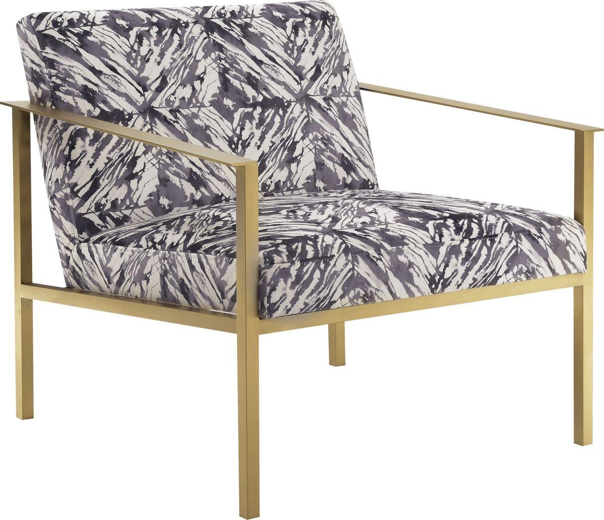 Gathright Dark Gray Accent Chair White Accent Chair Accent
