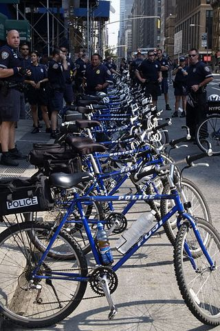Police Bikes - - - kick me