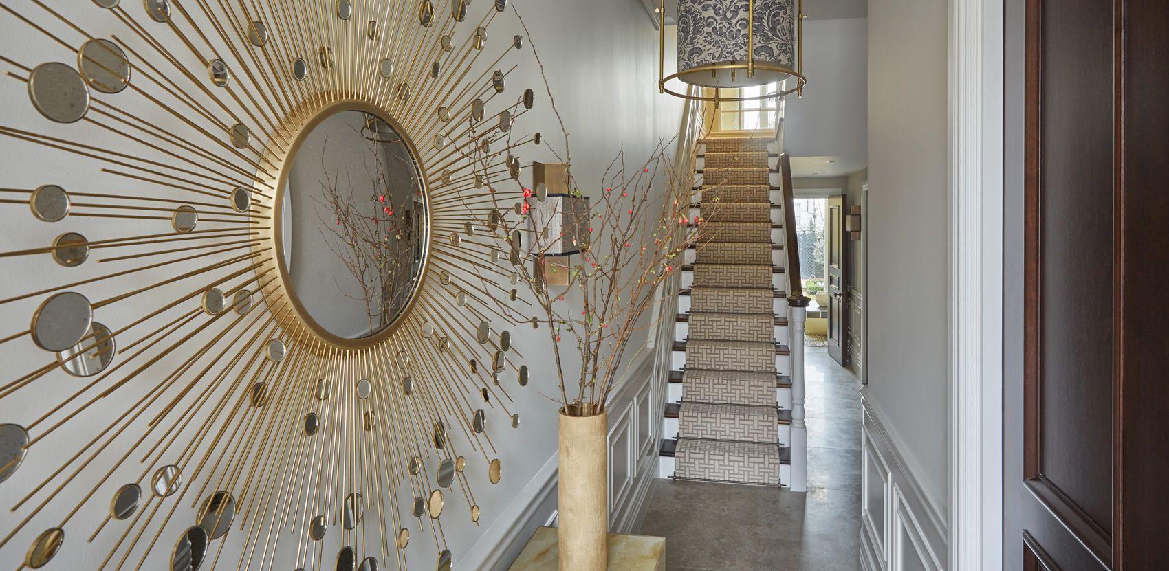 Helen Green Grand House Chelsea Modern Mirror Design Decor Interior Design Luxury Mirrors