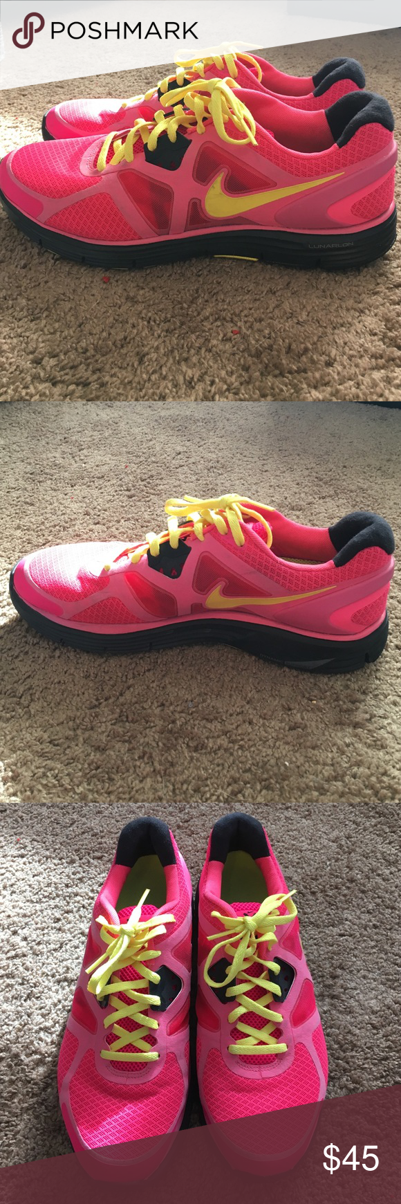 Women's Lunarglide, size 10.5 Great condition! Nike Shoes Athletic Shoes
