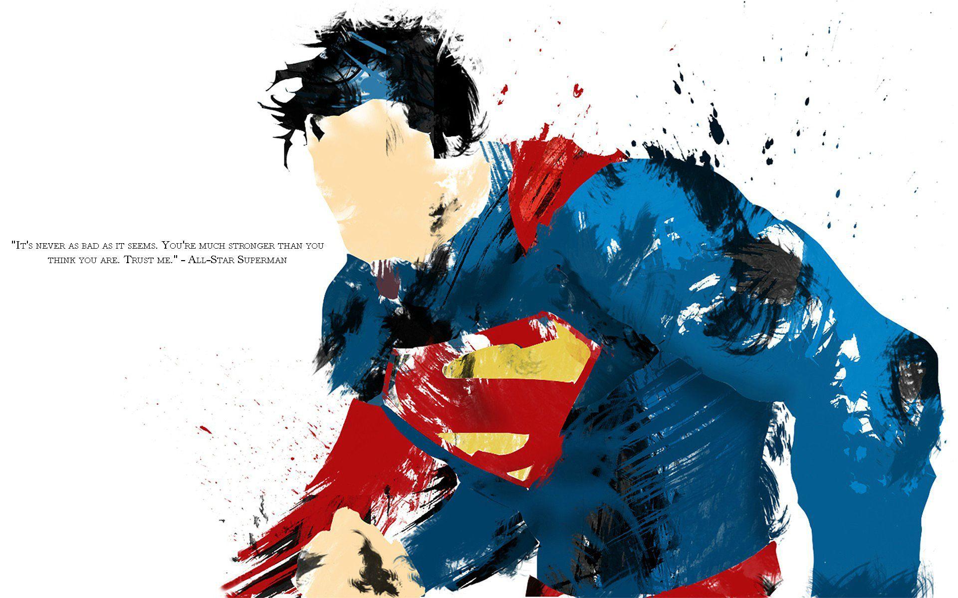 Superman... Superman wallpaper, Superman painting