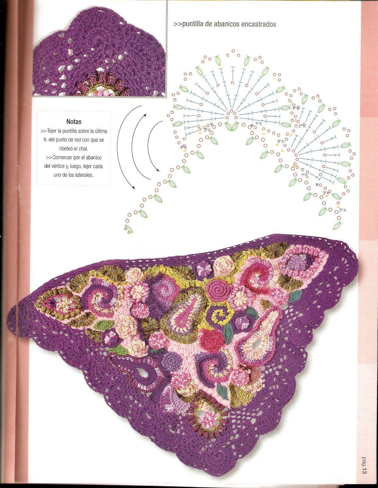 mis cosas: Puntadas en crochet | Crochet Inspiration | Pinterest ...