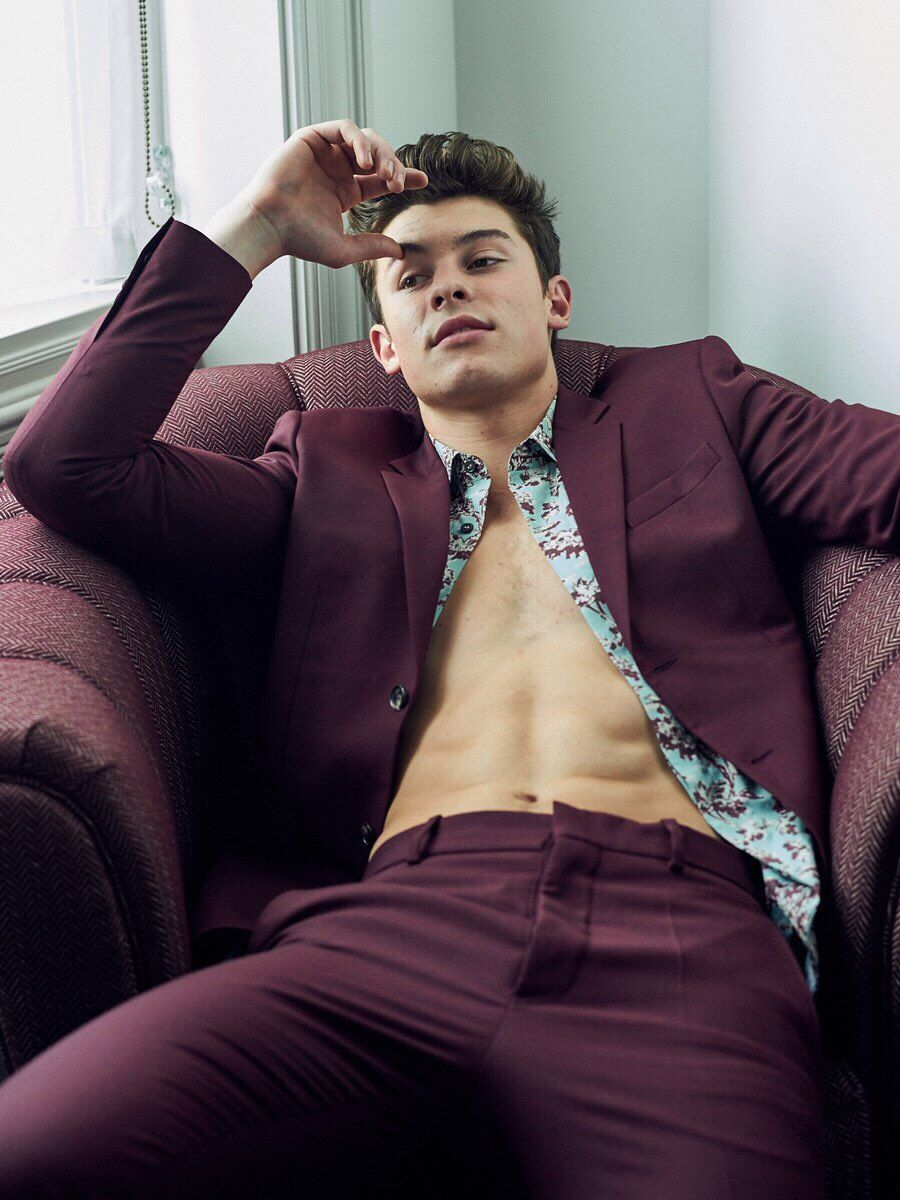 L'Uomo Vogue Magazine (Italy) | ○Shawn Mendes○ in 2019 | Shawn