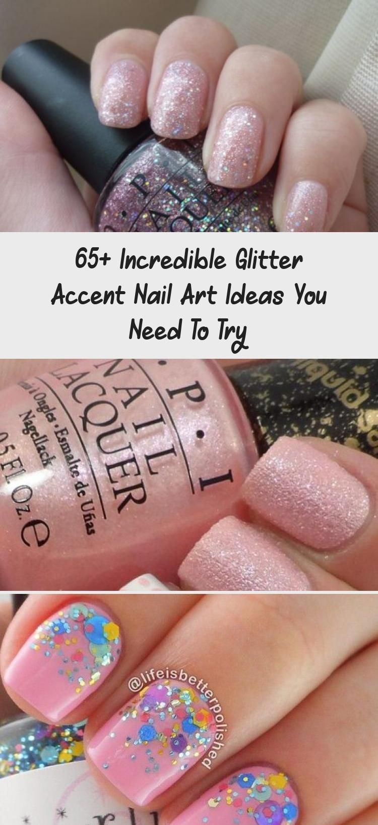 Photo of 65+ Incredible Glitter Accent Nail Art Ideas You Need To Try – Nail Art