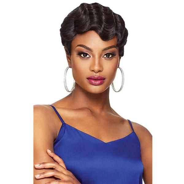 Outre Synthetic Half Wig Quick Weave Complete Cap Tina