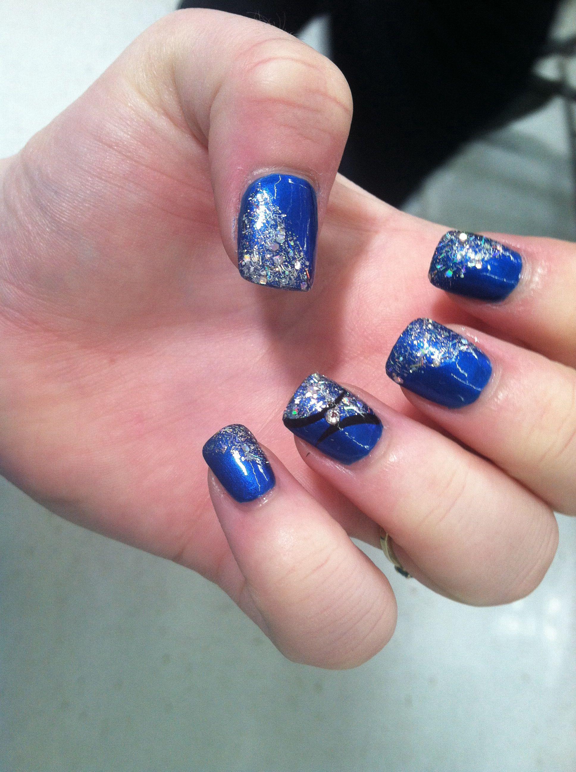 My homecoming nails