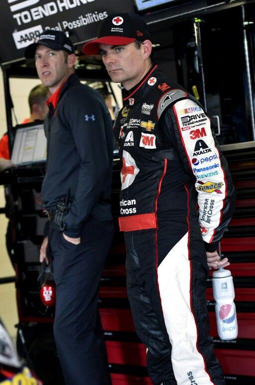 Jeff and Alan at Kansas Speedway