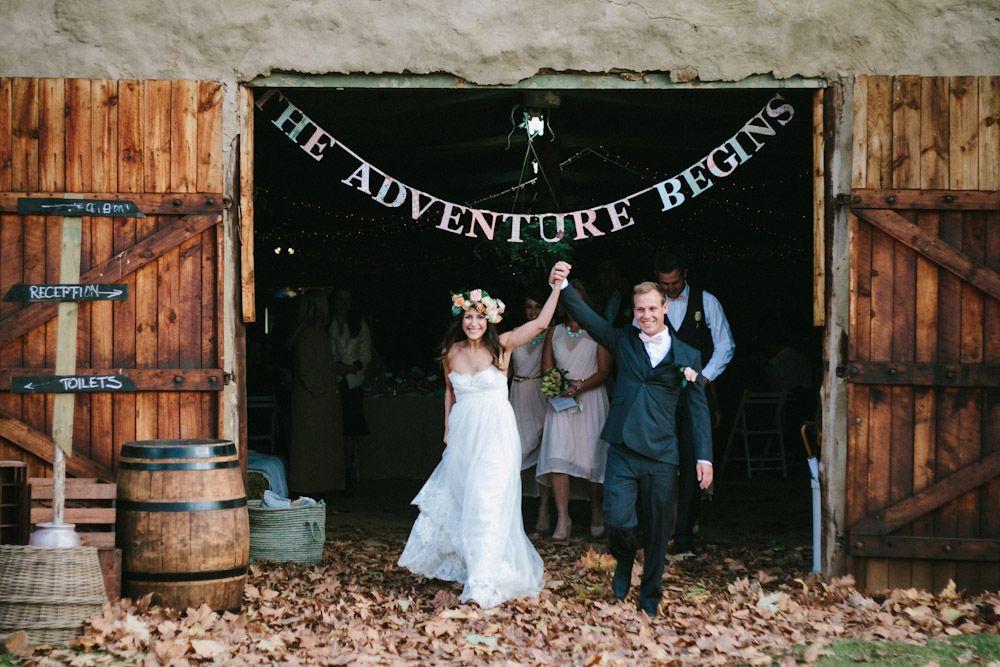 Fun South African Farm Wedding: Lauren & Mike