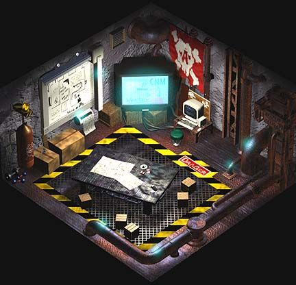 7th Heaven Bar Secret Room Art Final Fantasy VII Art Gallery