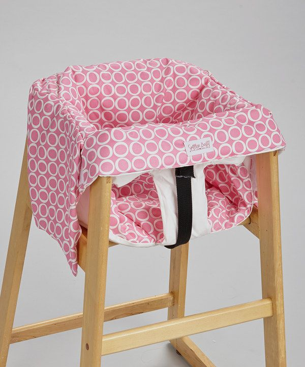 Look what I found on #zulily! Smitten Baby Chateau Rose Restaurant High Chair & Swing Cover by Smitten Baby #zulilyfinds
