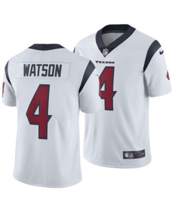 a4bf95147b5 Nike Men's DeShaun Watson Houston Texans Vapor Untouchable Limited Jersey -  White 3XL