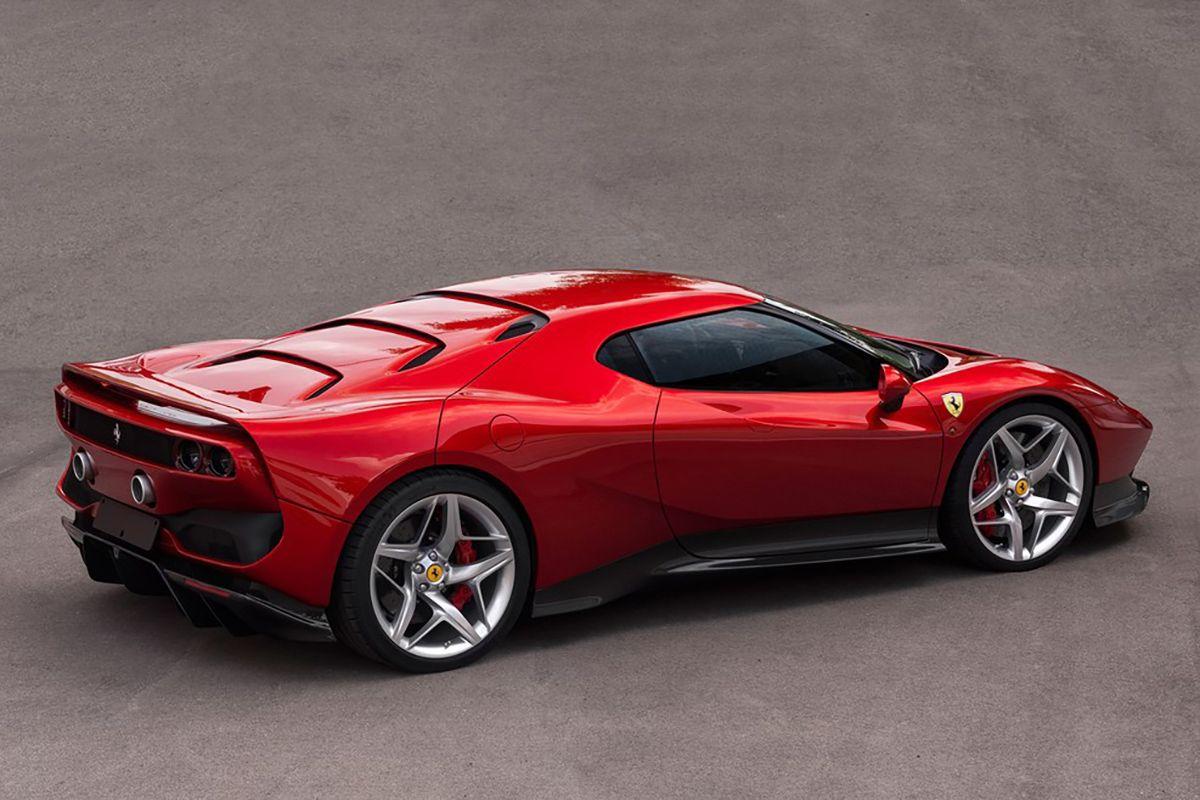 One Of A Kind Ferrari Sp38 Unveiled At 2018 Concorso D Eleganza