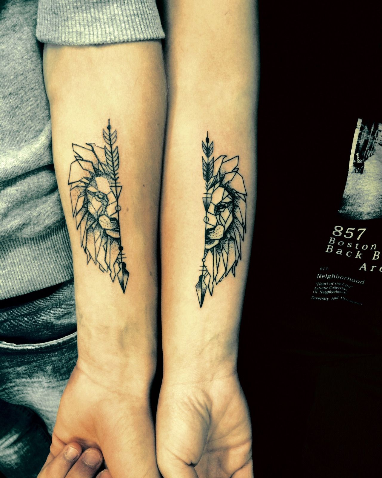 Matching Tattoos Day Mandram Tattoos Piercings Friendship