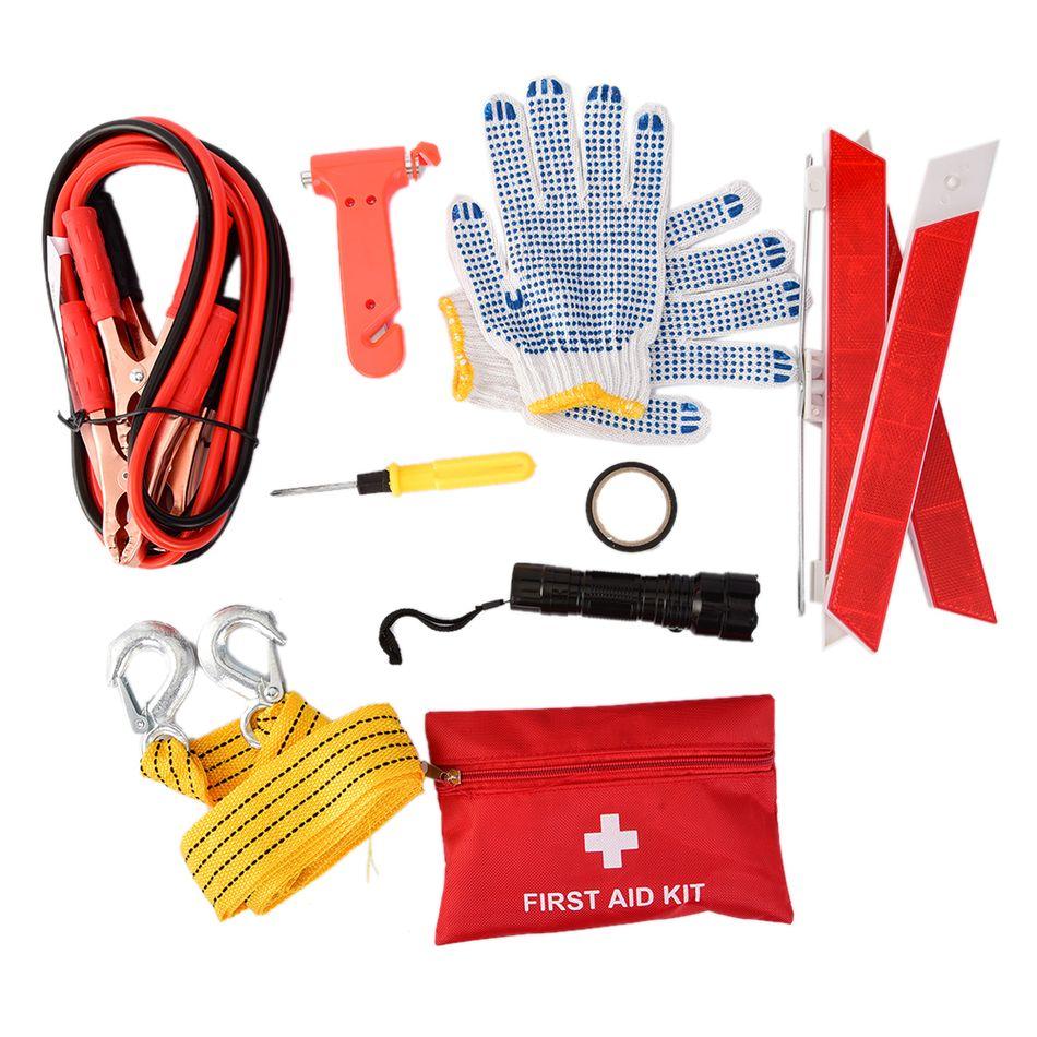 10PCS Car Emergency Kits Auto Roadside Emergency Tool