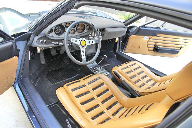 1972 Dino Ferrari 246 Gts Serial Number 03916 Interior Overall From Left Ferrari Ferrari Car American Racing