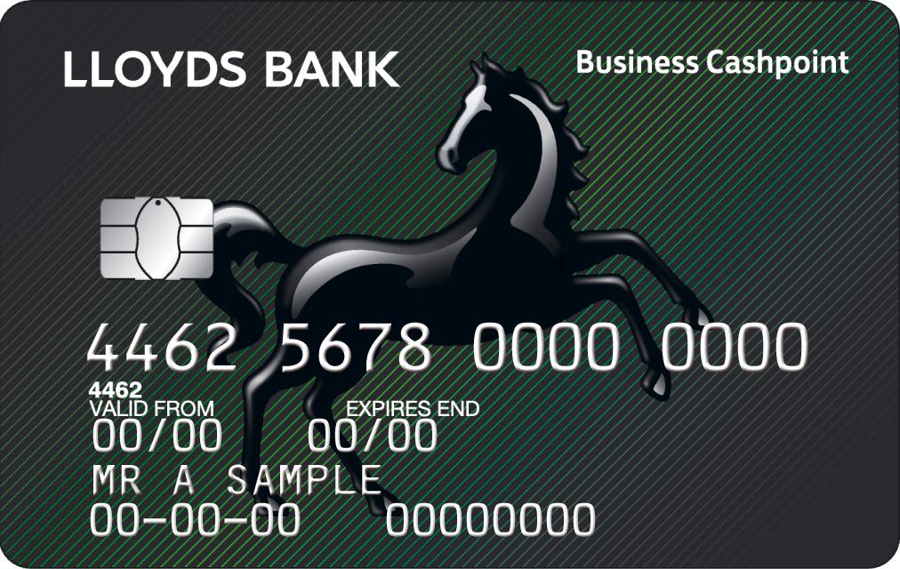 Lloyds Foretag Betalkort Foretag Cashpoint Kort Business Banking