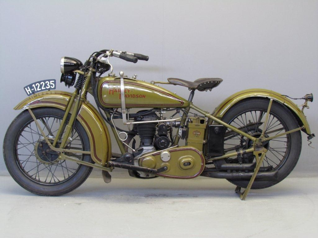 Harley Davidson 1929 29c 500 Cc 1 Cyl Sv Motos Pinterest