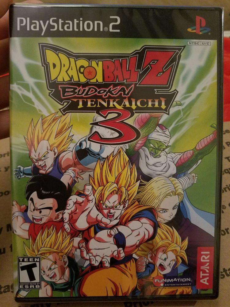 Dragon Ball Z Budokai Tenkaichi 3 Playstation Ps2 Factory