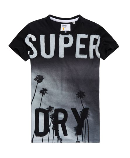 Superdry Camiseta larga Scratched Out  e8471d60acf