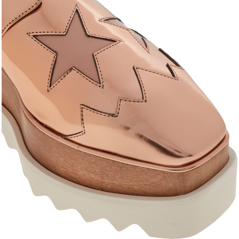 Rose Gold Flatform Shoes - Shoes