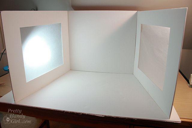 Diy Photography Light Studio Set Up Photography Lighting Diy Light Box Photography Light Box Diy
