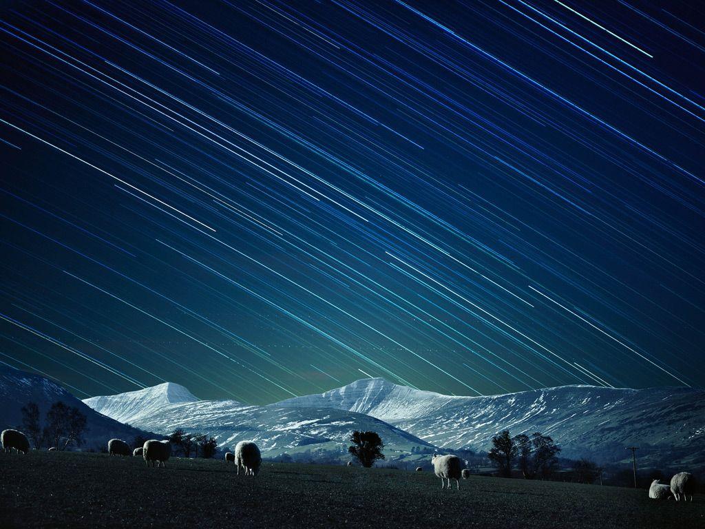 lugares del mundo para ver las estrellas Brecon Beacons, Gales estrellas