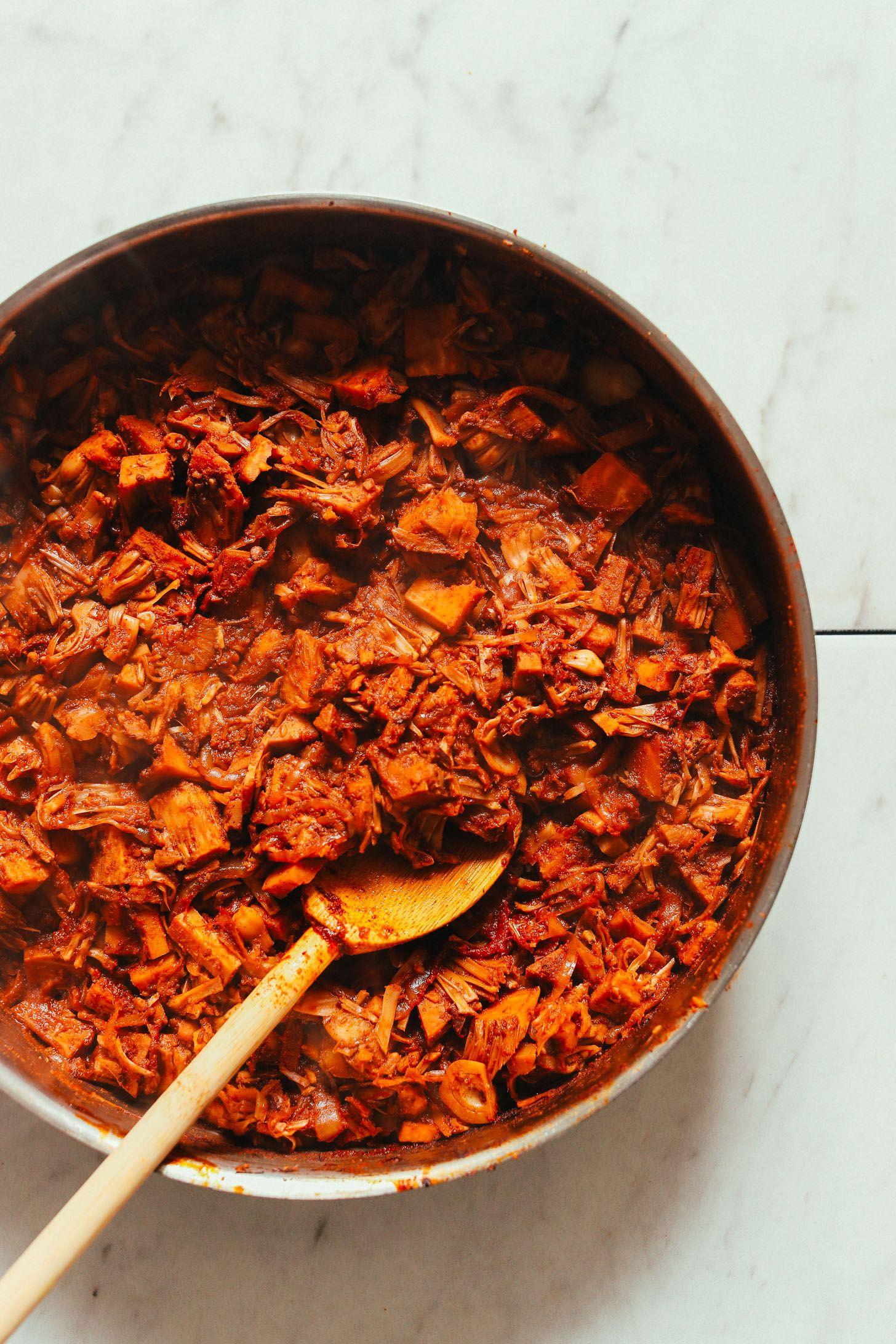 Spicy Jackfruit Tacos 1 Pot Meal
