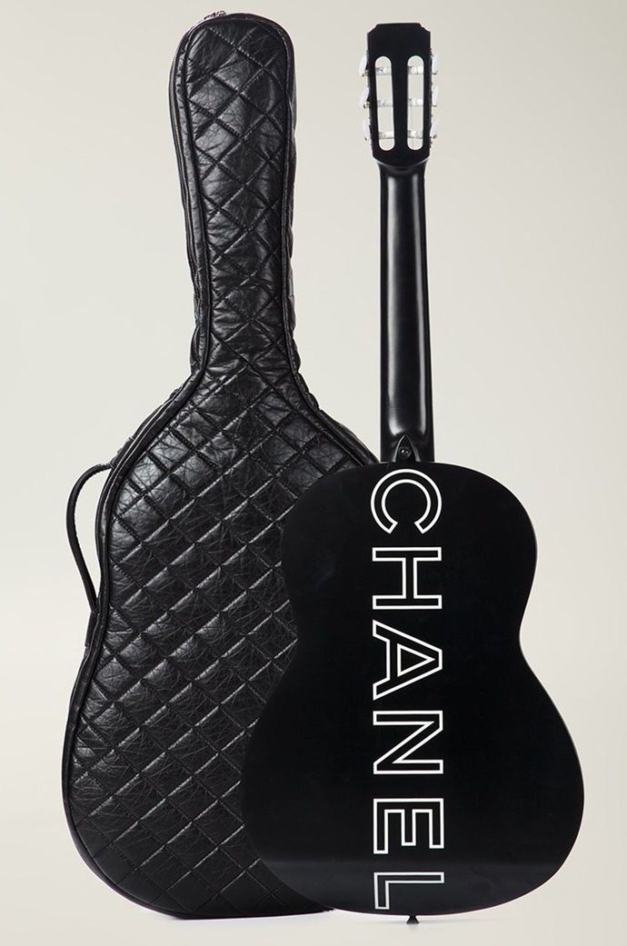 Chanel Guitar Case For 27 500 Vintage Chanel Chanel What Goes Around Comes Around