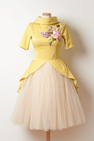 'Banana Split' Dress by www.chotronette.com