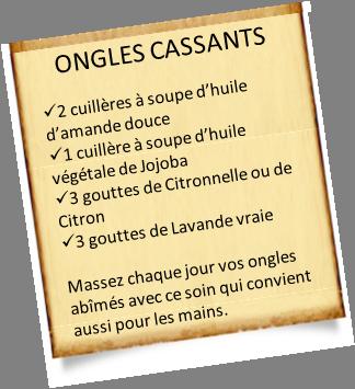Ongles cassants  Huiles essentielles et végétales recommandées , Huile  Essentielle  Mes recettes et conseils sur les huiles essentielles