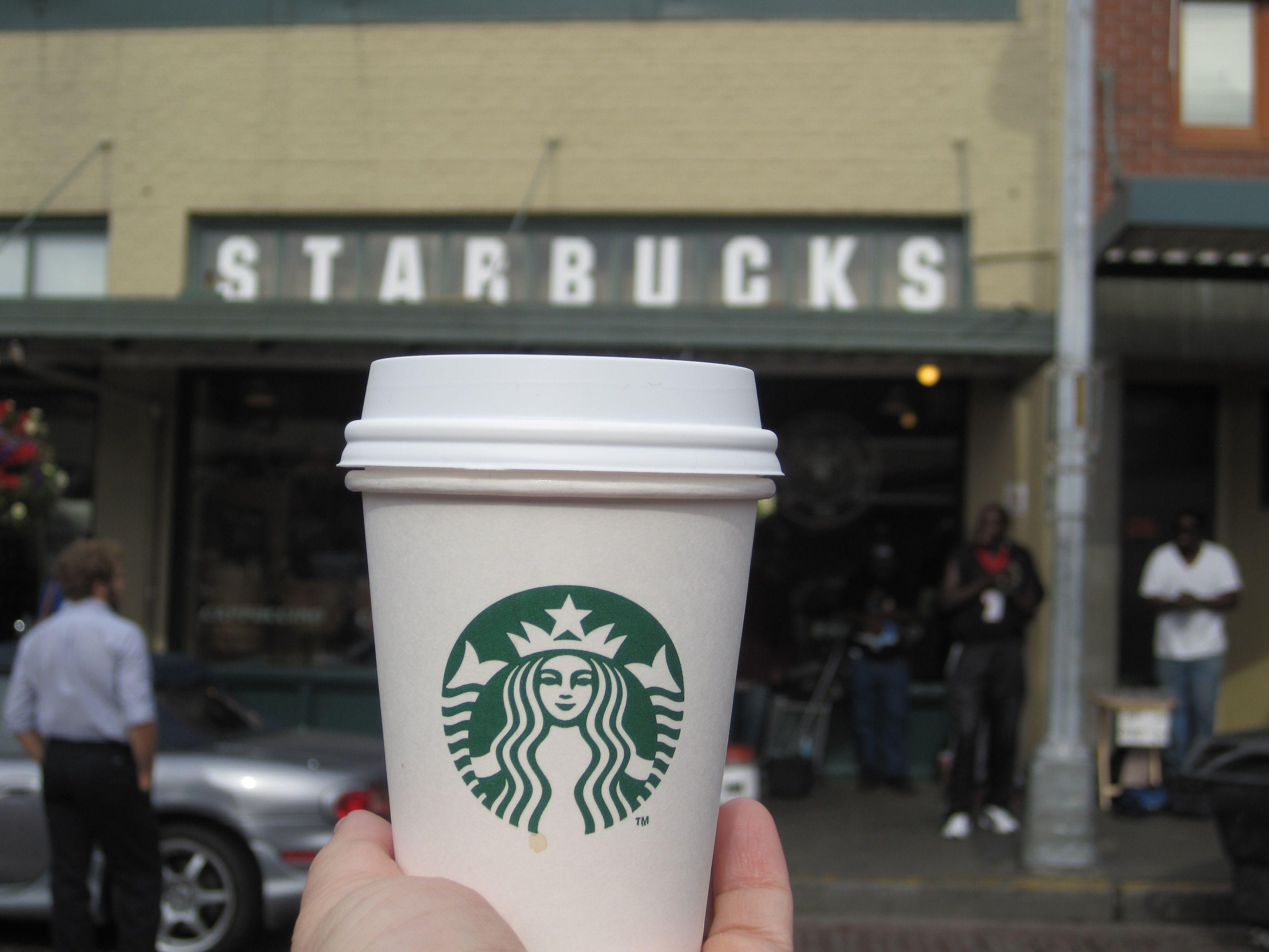 Starbucks coffee, Seattle, WA