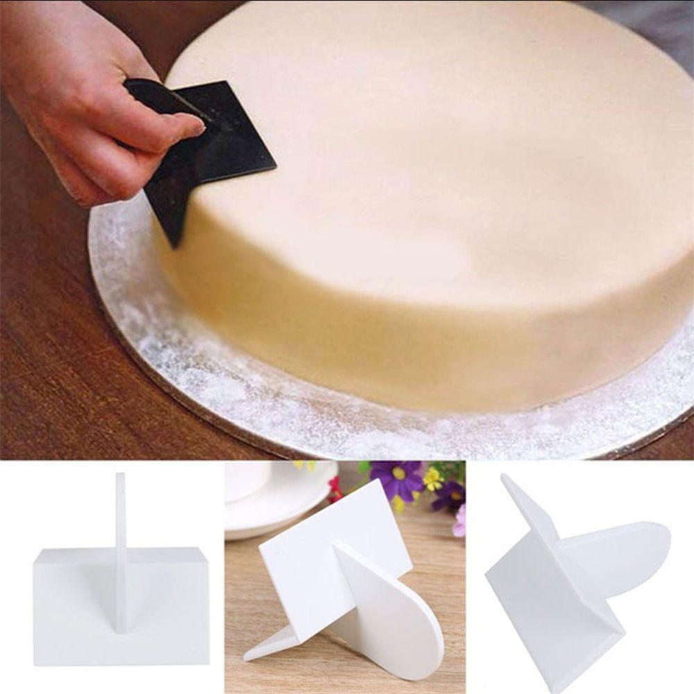 Cake Smoother Polisher Tools Cake Decorating Smoother Fondant Kitchen Bake Tool