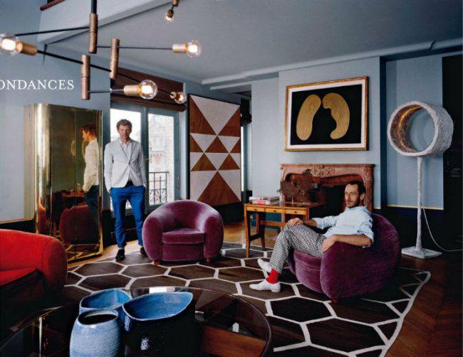 Space designed by emiliano salci and britt moran of dimore for Studio decoracion