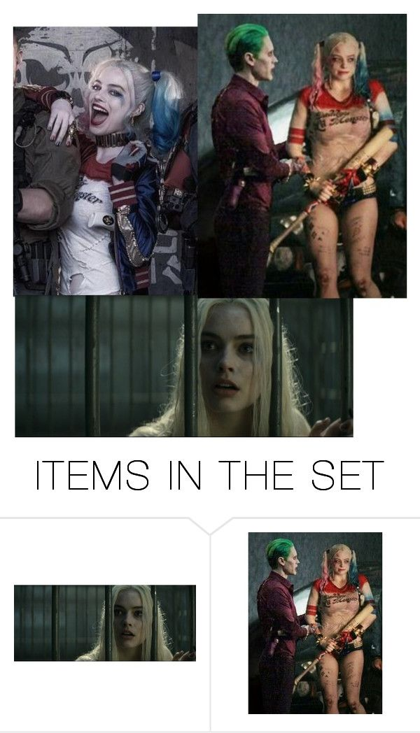 """""""HI BOYS _ Harley Quinn _"""" by jalexforever ❤ liked on Polyvore featuring art"""