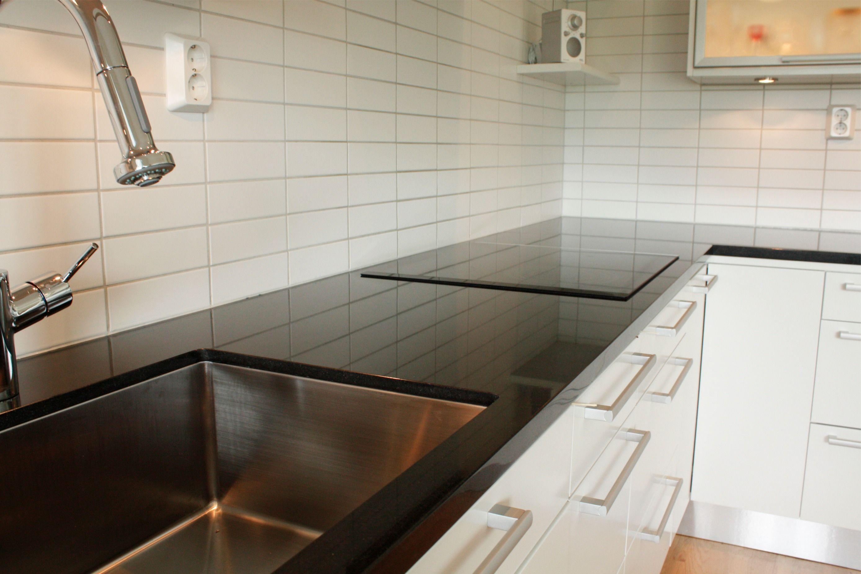 Plan De Travail Quartz Ikea Recherche Google Cuisine Noire Plan De Travail Bois Cuisine Noire Et Bois
