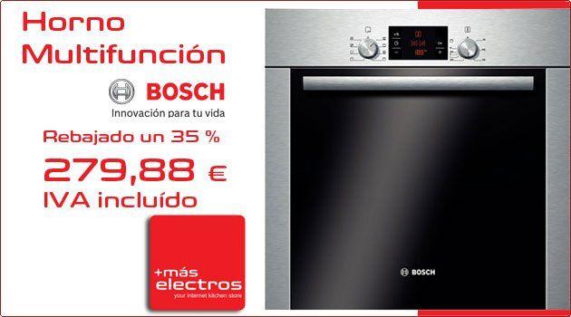 Horno BOSCH Multifunción Sport Line a un precio único búscalo en www.maselectros.com