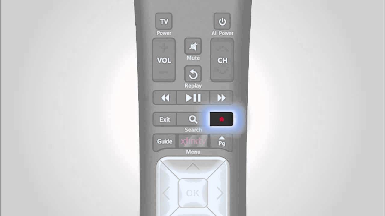 Learn the X1 Remote Control xfinity remote Pinterest