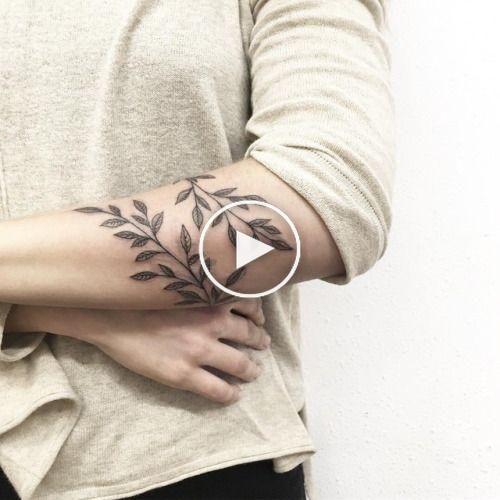 Tattoo ideas -   17 plants Tattoo arm ideas