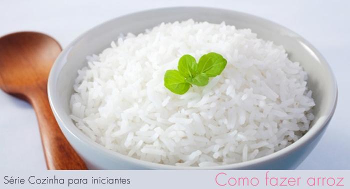 Série Cozinha para iniciantes- Como fazer arroz - * Elaine Gaspareto *