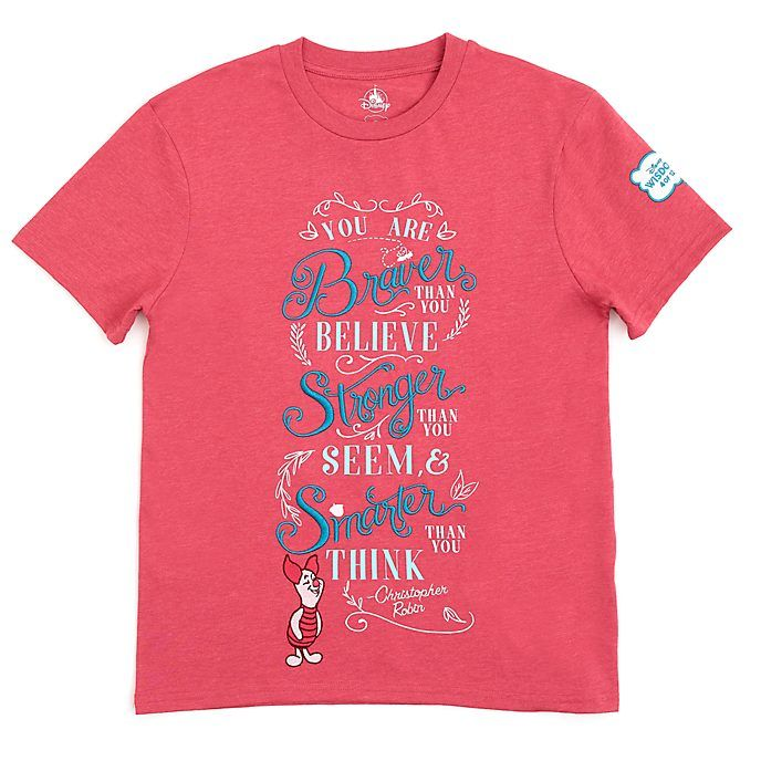 Disney Store Piglet Disney Wisdom T-Shirt For Adults, 4 of ...