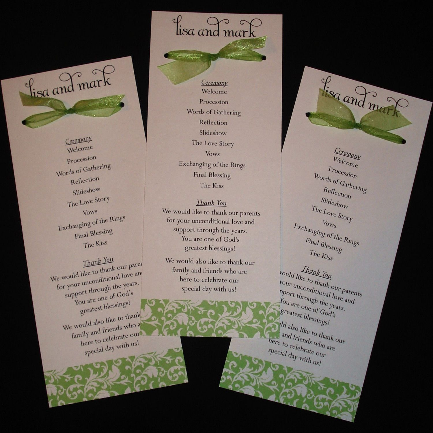 17 Best images about wedding ceremony programs on Pinterest ...